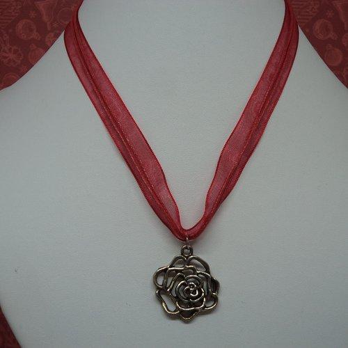 Coloré Coeurs Rouges Collier pour Saint-Valentin Bijouterie Femmes Mère