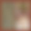 Bijou fantaisie collier en cordon de suédine et pendentif cabochon en verre 20 mm attrape rêve marron fond marin moderne