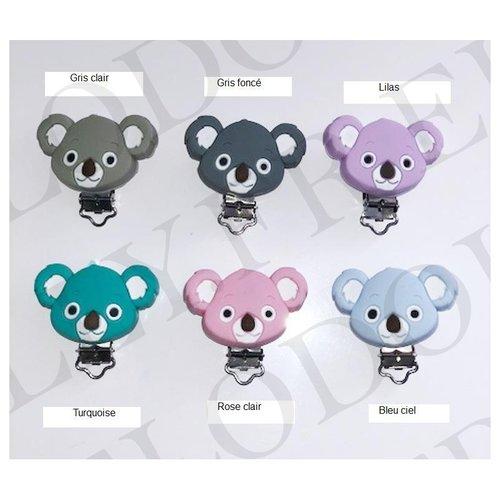 Clip silicone koala