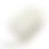 30 grandes étiquettes kraft blanches