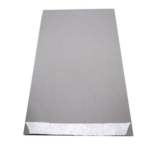 10 pochettes kraft gris