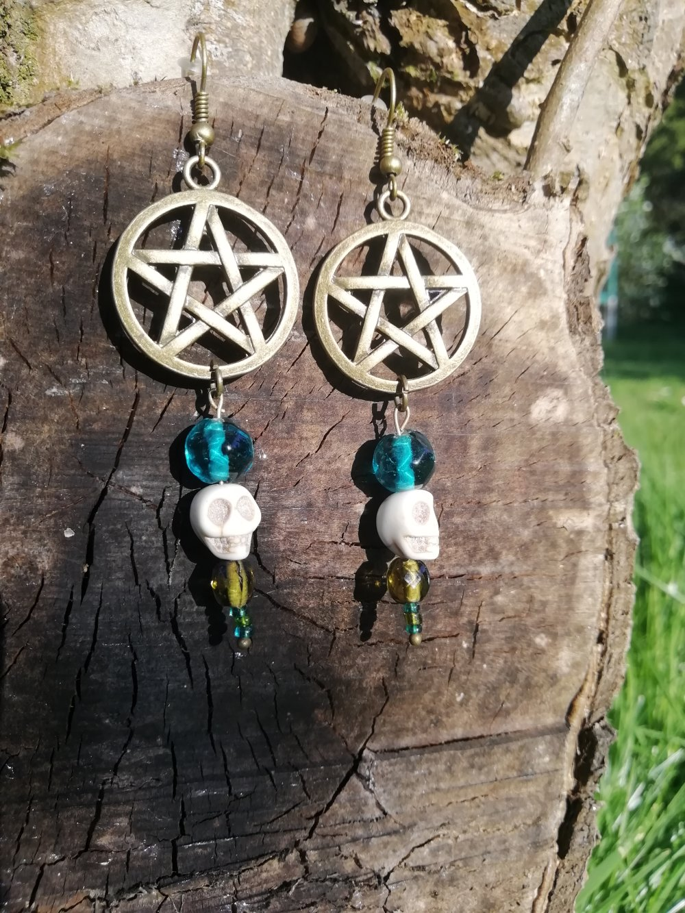 Boucles d'oreilles Hippie Witch