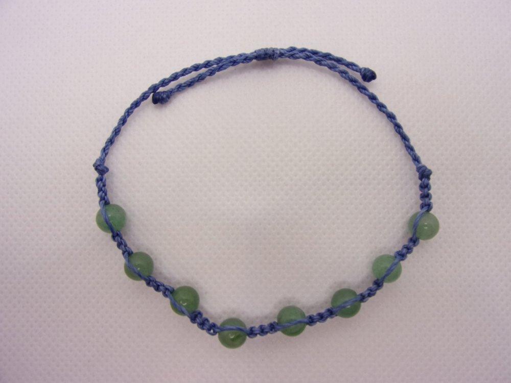 Bracelet Shamballa « Aventurine»
