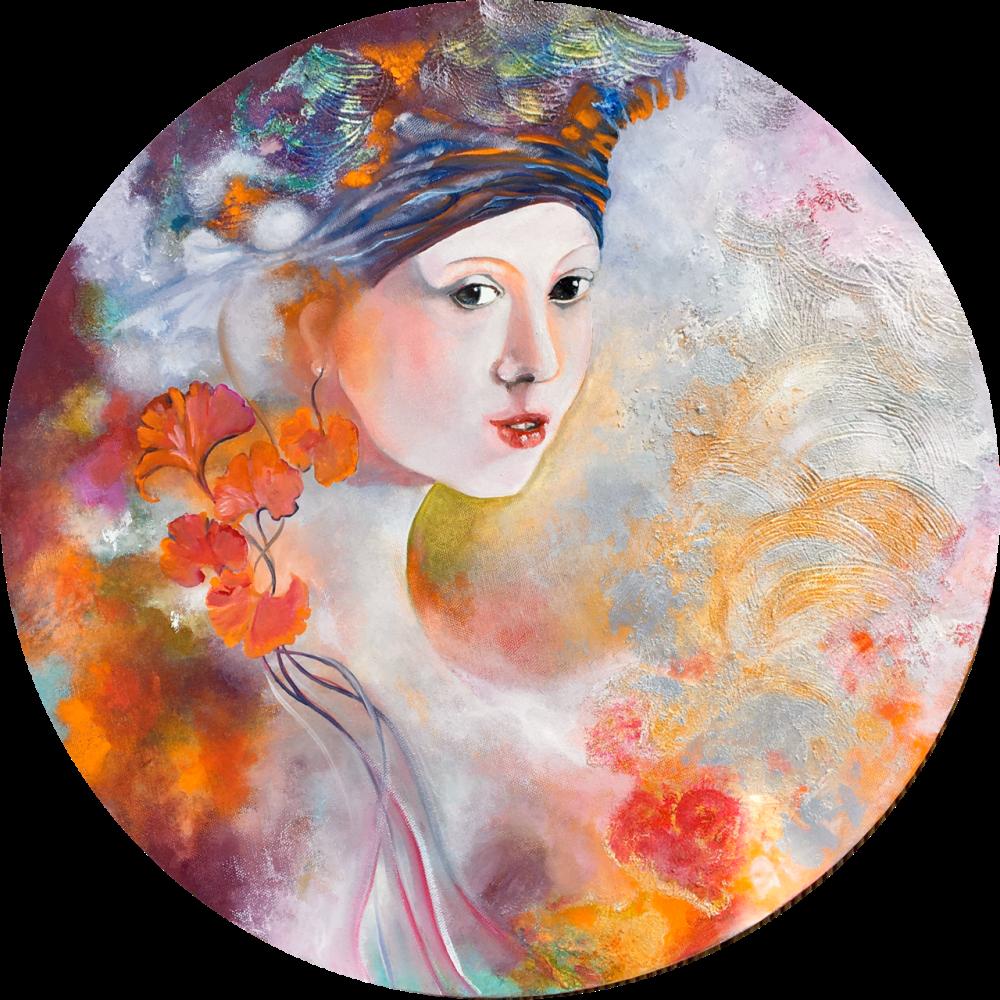 Inspirée de La jeune fille à la perle de Johannes Van der Meer dit Veermer