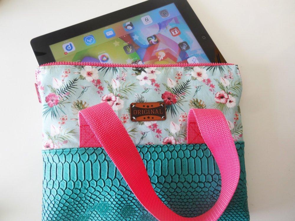 sacoche pour tablette - sac - pochette pour ipad - housse de protection et de rangement