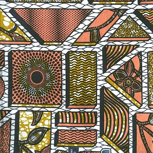 Tissu wax africain vendu au détail
