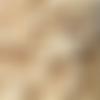 10 perles rondelles en bois beige naturel, 6 mm