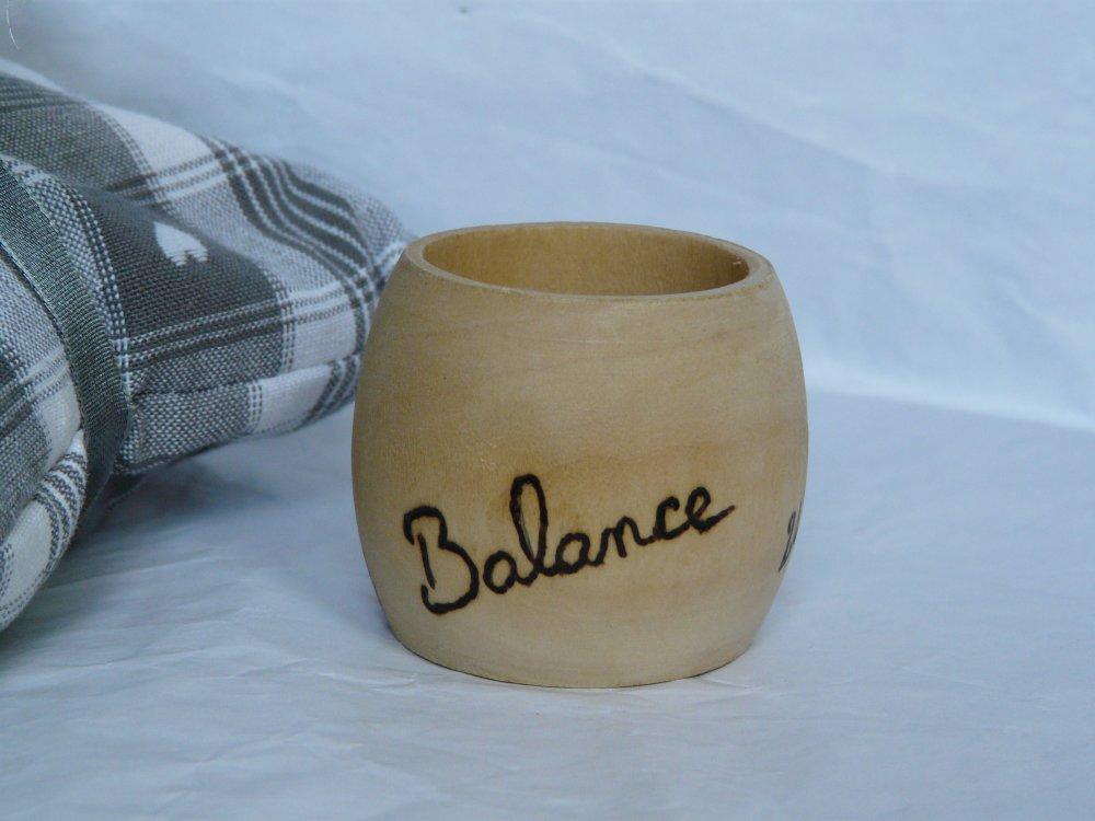 "Rond de Serviette ""Balance"""