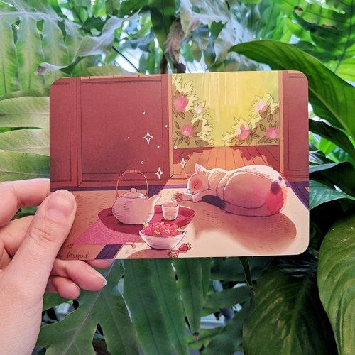 Carte postale - matinée ensoleillée