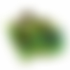 Orgone énergétique chat vert d'or