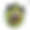 Pendentif orgone chakra de la gorge