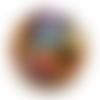 Orgone énergétique demi-sphère à facette de poche infini