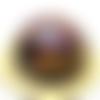 Orgonite énergétique demi-sphère zodiaque