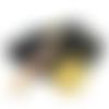 Pendule radiesthésie orgone générateur d'énergie céleste sur oeil de tigre