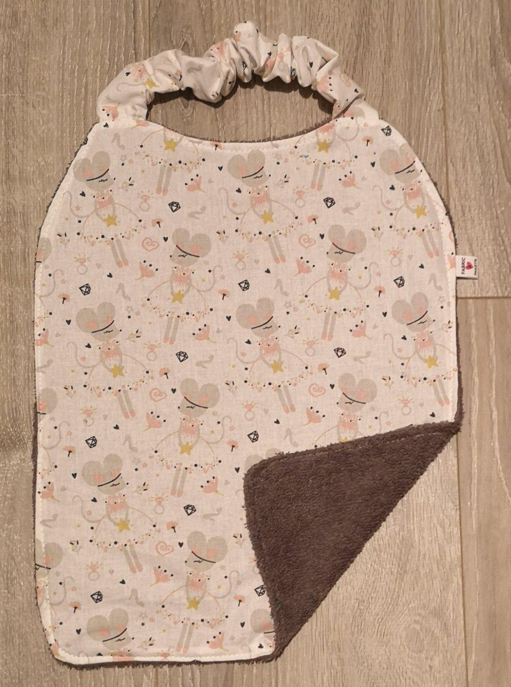 Serviette elastiquée, serviette de cantine