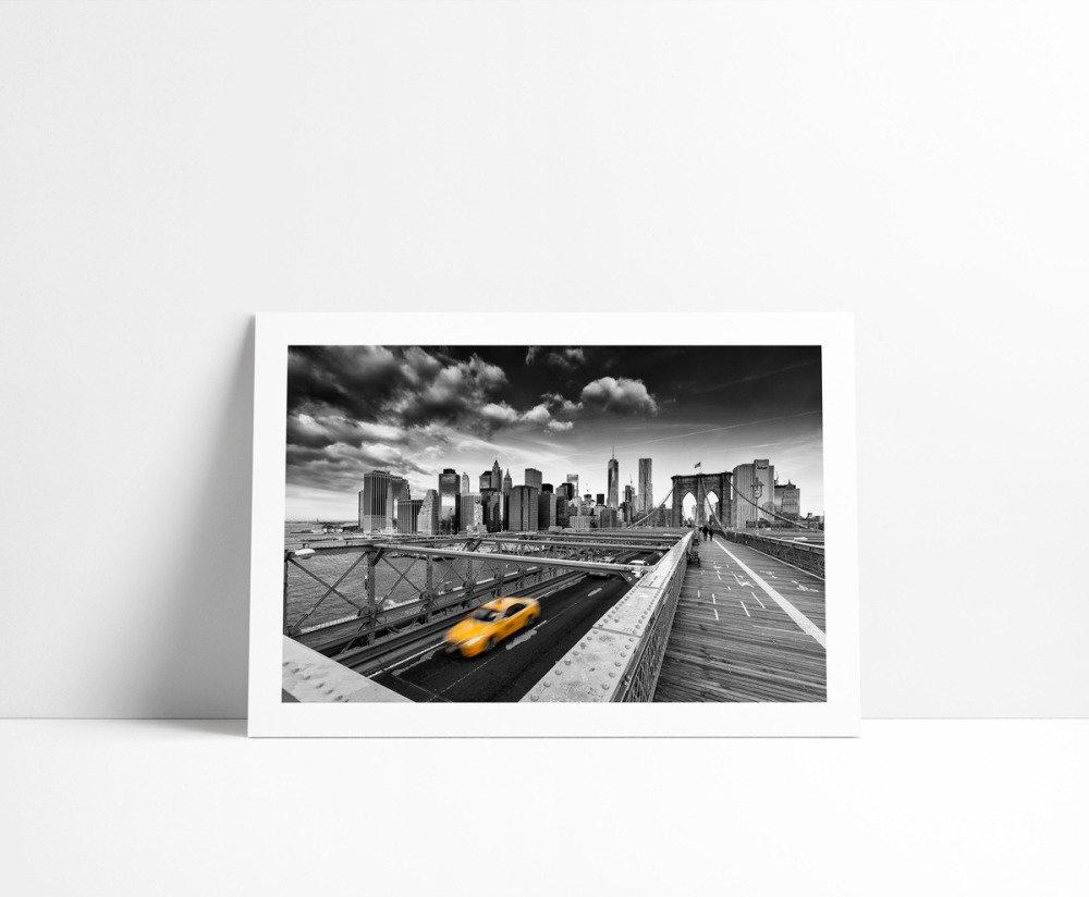 Yellow Cab, Tirage Fine Art 30 x 45 cm