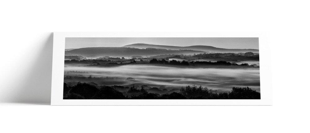 Matin brumeux, Tirage Fine Art 30 x 90 cm