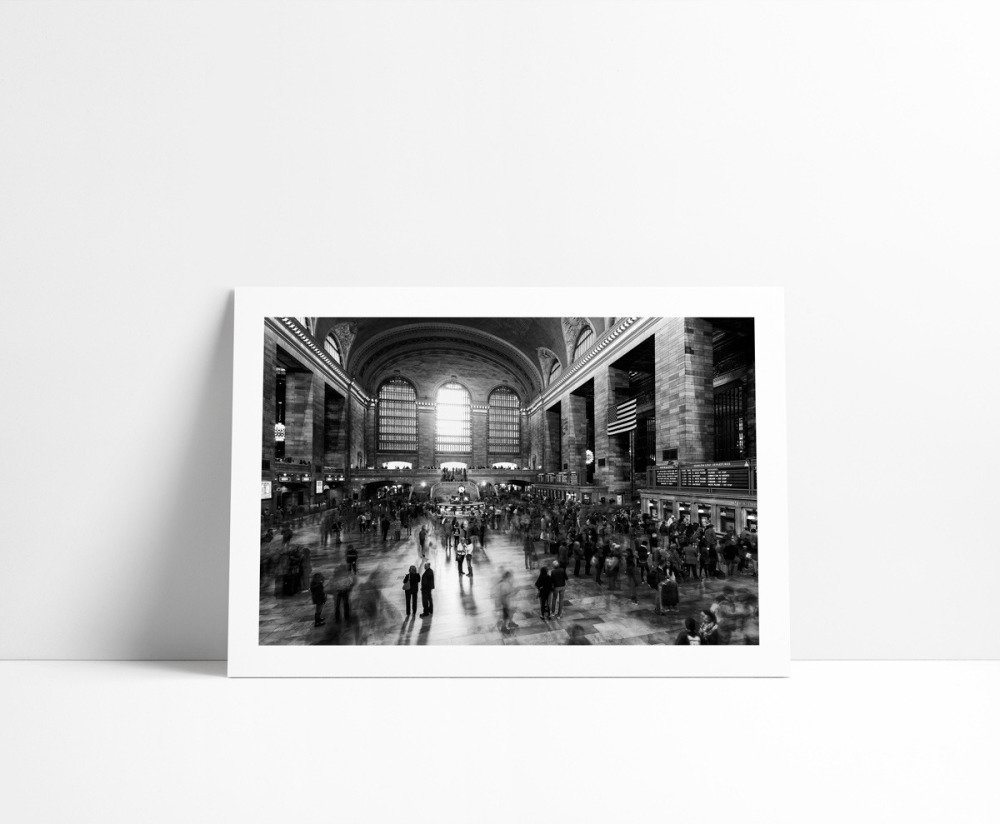 Grand Central Terminal, Tirage Fine Art 20 x 30 cm
