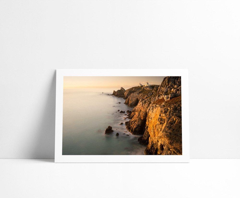 La Pointe du Toulinguet, Tirage Fine Art 15 x 21 cm