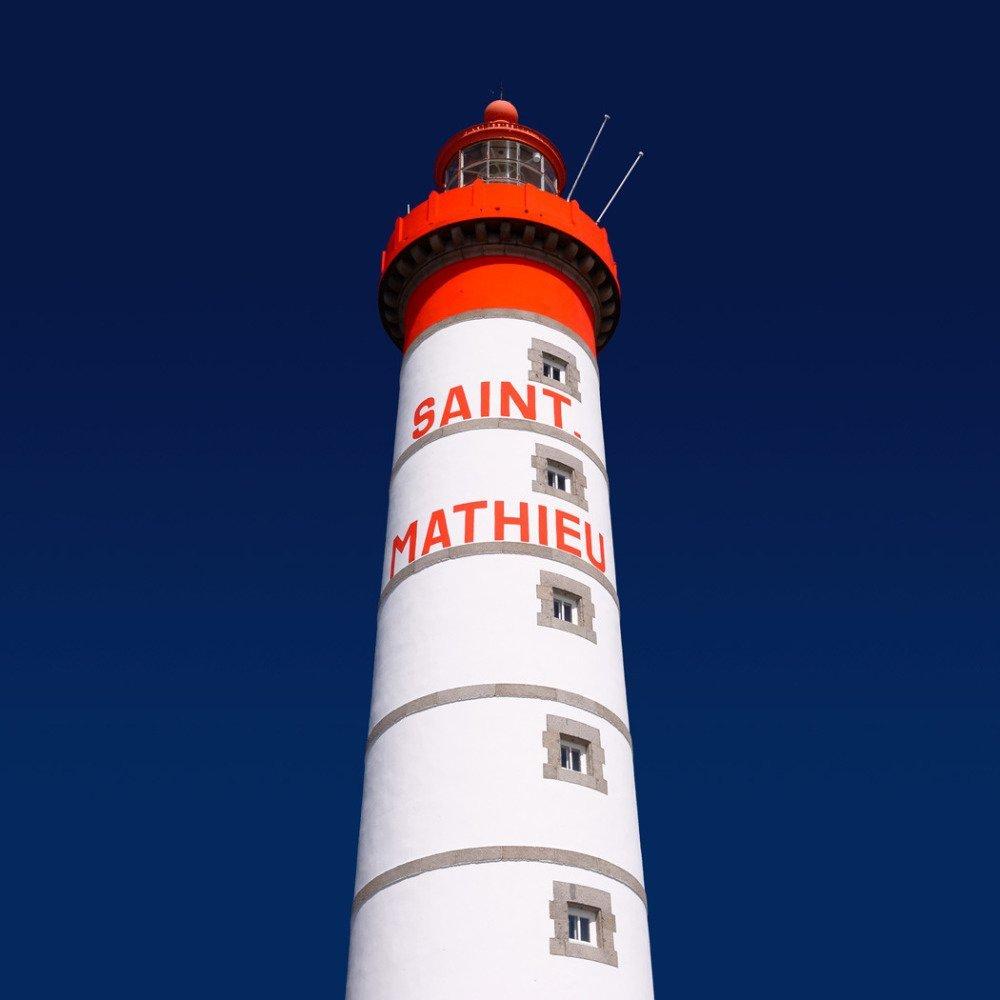 Le Phare Saint-Mathieu, Tirage Fine Art 30 x 30 cm