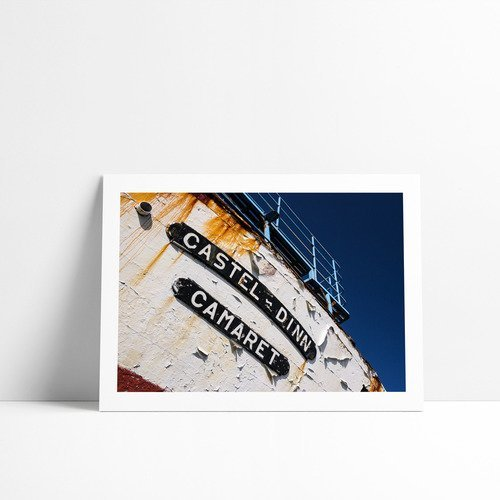 Le castel-dinn, tirage fine art 30 x 40 cm