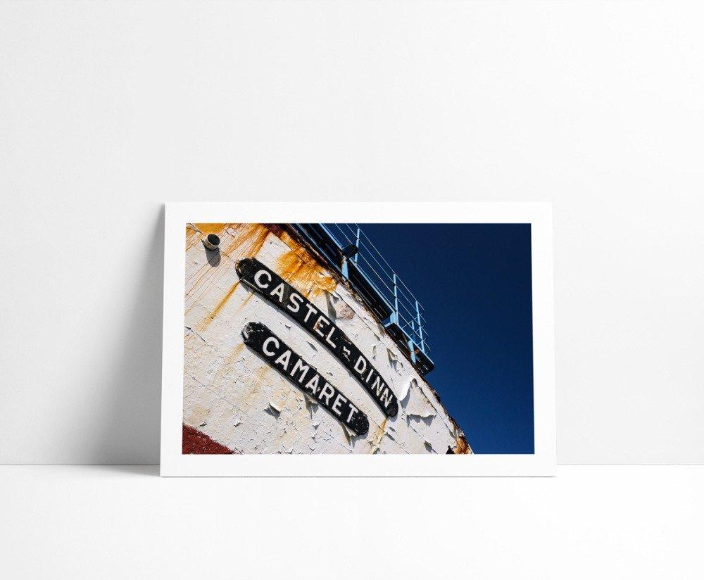 Le Castel-Dinn, Tirage Fine Art 30 x 45 cm