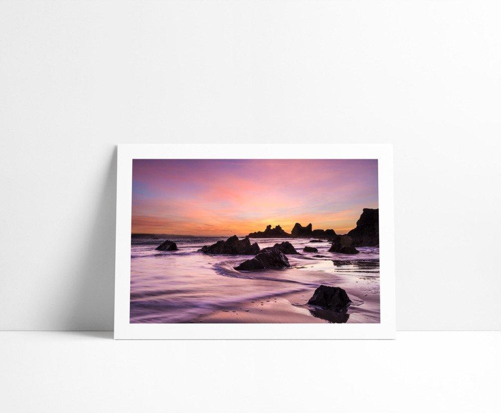Lever de Soleil au Kador #1, Tirage Fine Art 30 x 45 cm