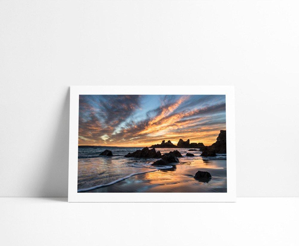 Lever de Soleil au Kador #2, Tirage Fine Art 30 x 45 cm
