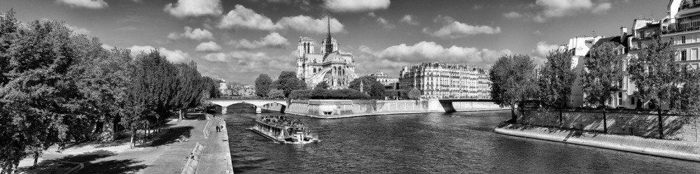 Paris #2, Tirage Fine Art 30 x 120 cm