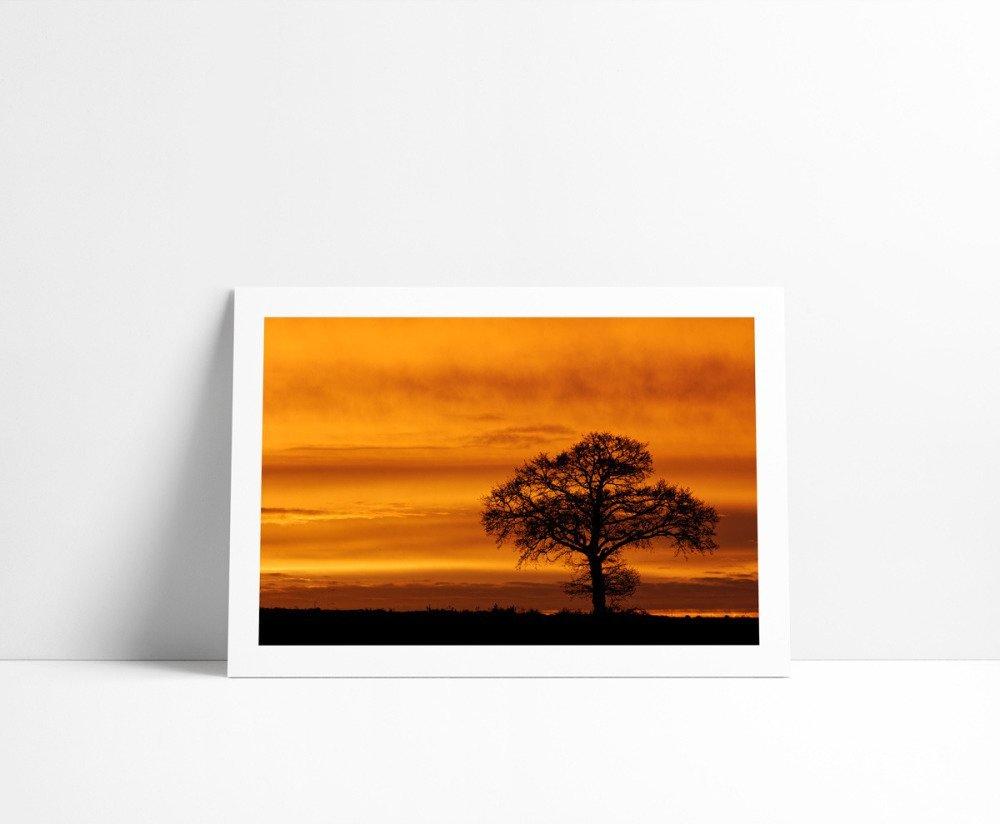 Lever de Soleil #2, Tirage Fine Art 15 x 21 cm
