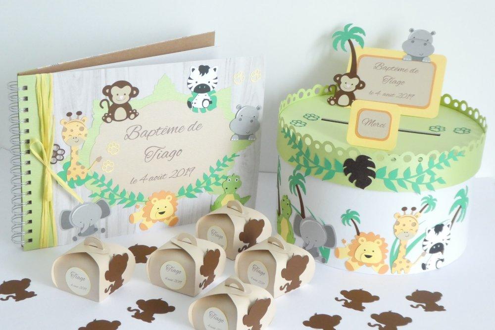 Boîte à dragées singe
