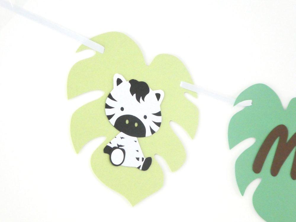 Guirlande feuille jungle