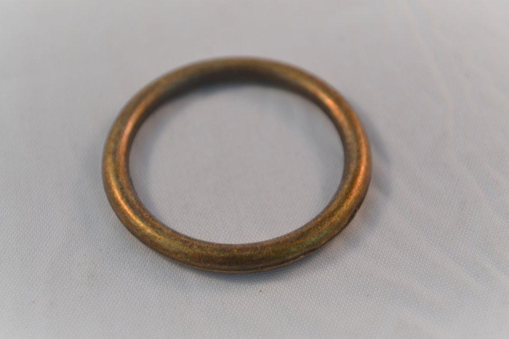 lot x 4 anneaux sac bijoux customisation maintien sangle bronze 38 mm
