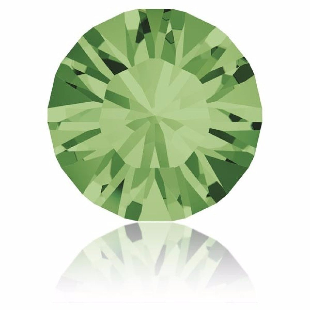 Perle strass ronde Swarovski SS39 1088 Peridot