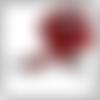 Bandoulière en cuir véritable florentin, avec clous et mousquetons argentés, pour pochettes et sacs à main, disponible en 6 coloris