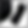 5 mètres, bande élastique noir, mm.76