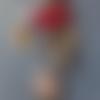 Super auxiliaire puéricultrice bijou de sac - noeud rose