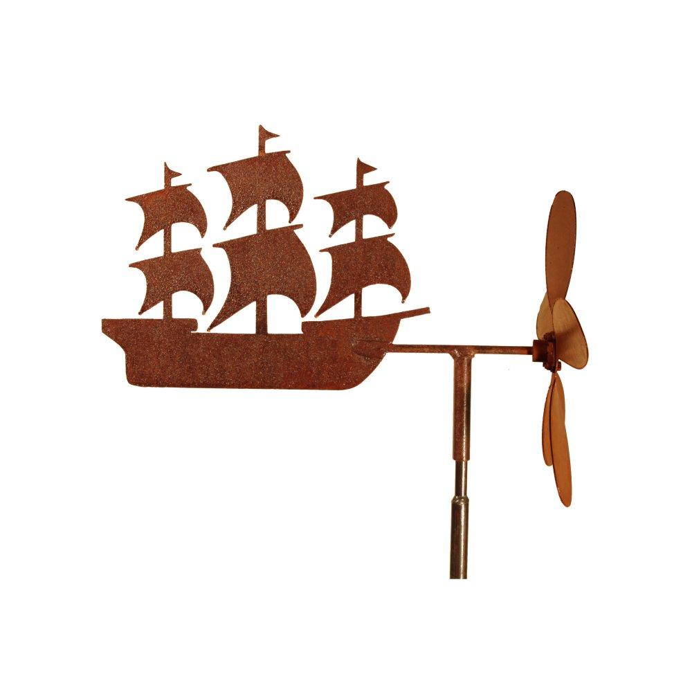 Eolienne bateau sur plateau à fixer