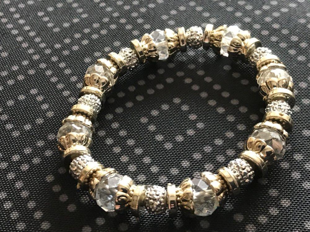 Bracelet chic et glam