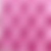 Feuille à coller decopatch capitonnage rose 30 x 40 cm