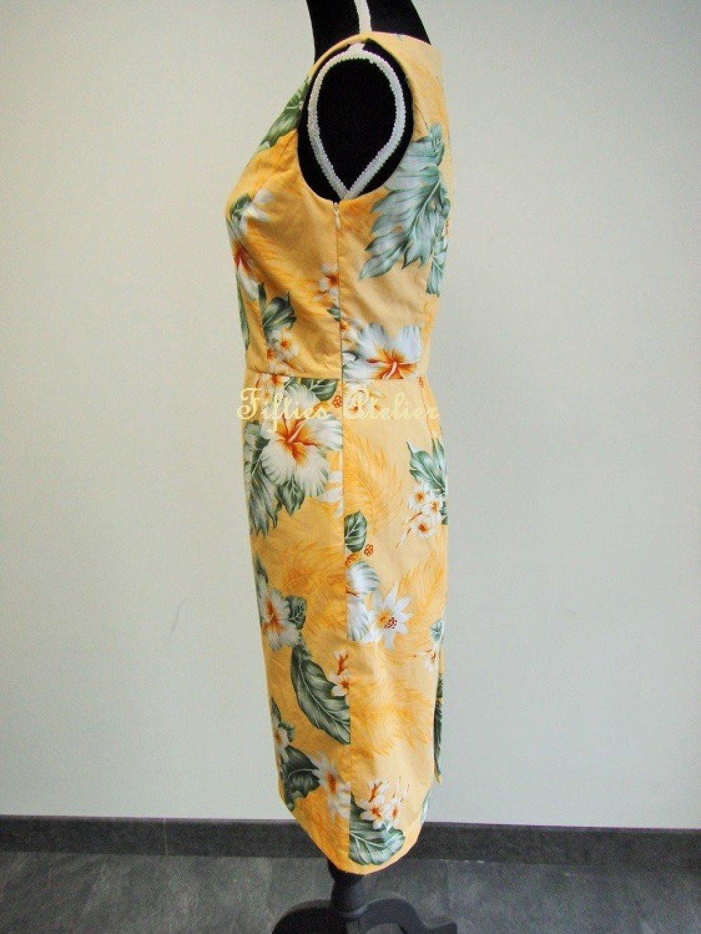 Robe Bora Bora couleur pêche