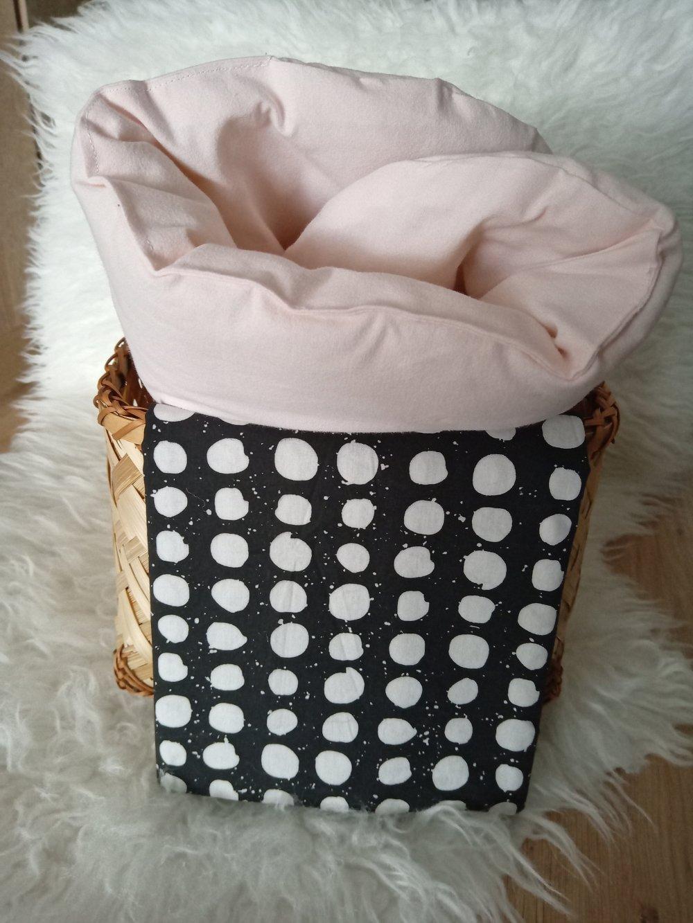 Topponcino (Montessori), petit matelas bébé en molleton de laine bio + 1 housse en coton Oeko-Tex