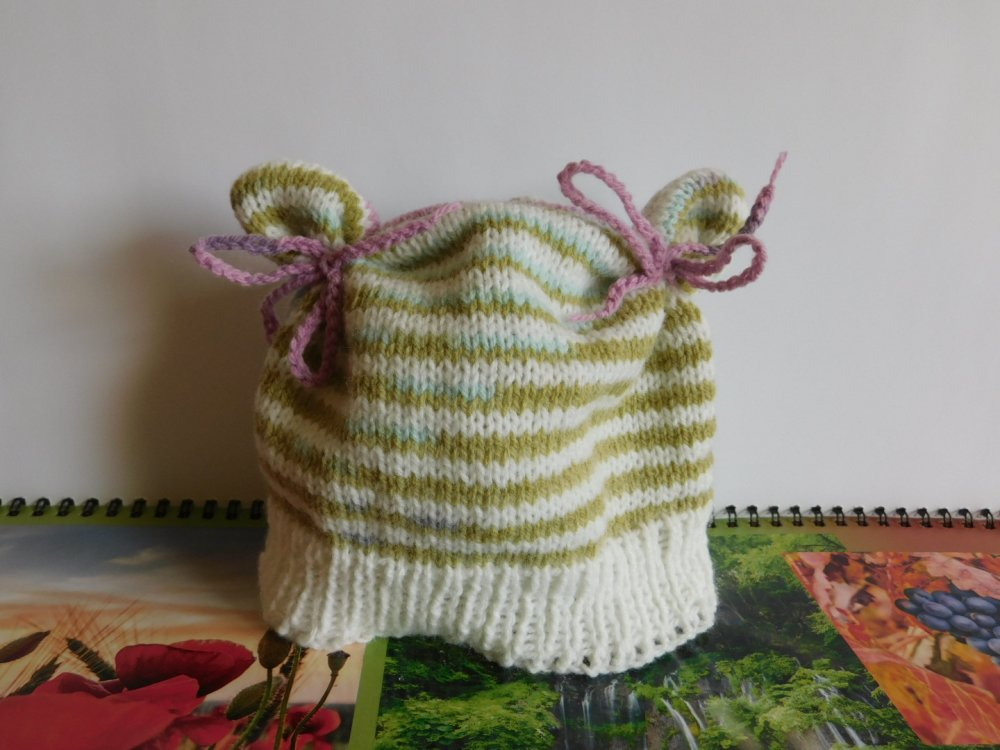 Bonnet rayures