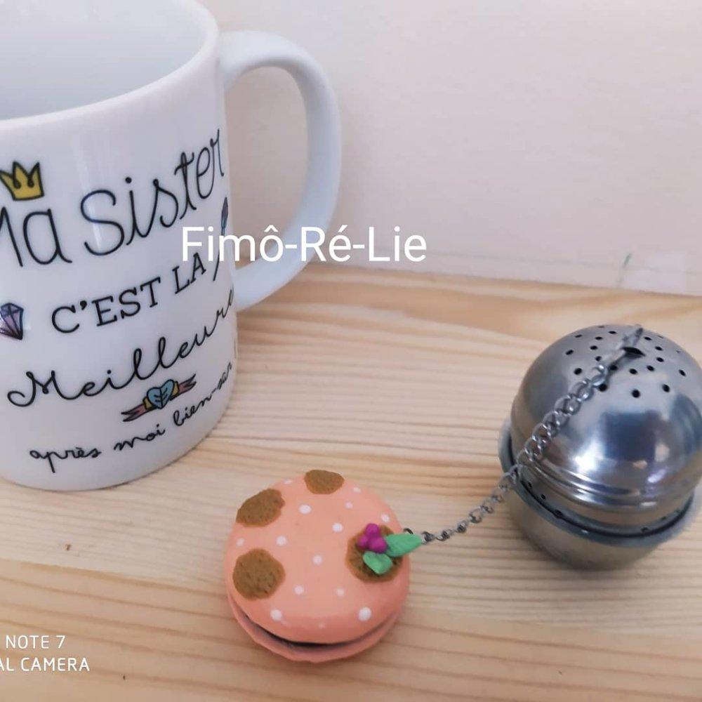 Boule a thé version macaron