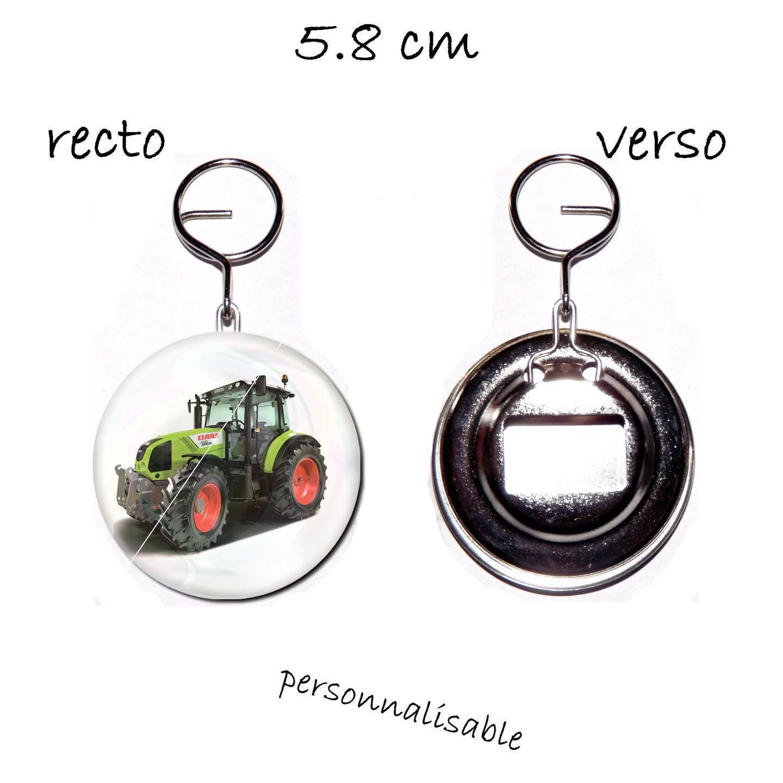 1 décapsuleur porte clef 58mm,tracteur modele numéro 1