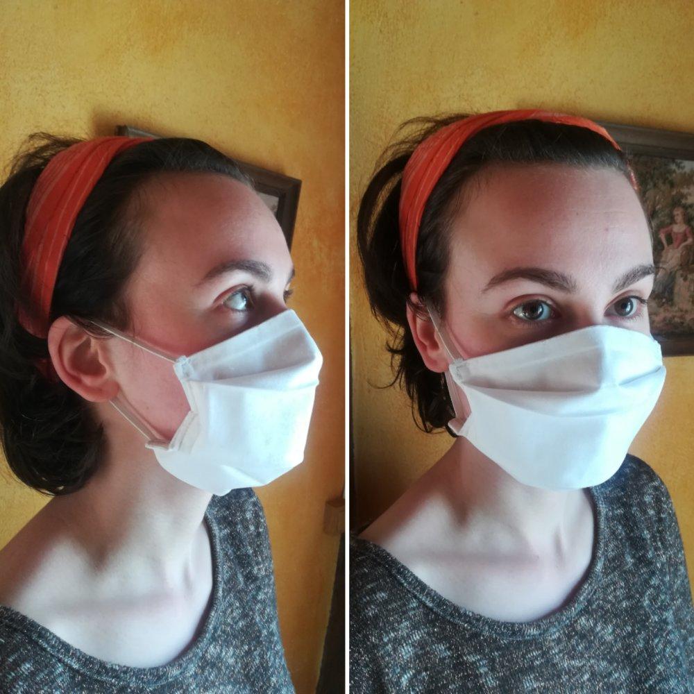 Lot de 3 Masques barrière afnor, masques de protection. Taille adulte.