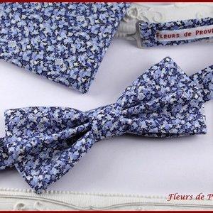 Chassiroma Broche n/œud papillon en tissu pour homme et femme