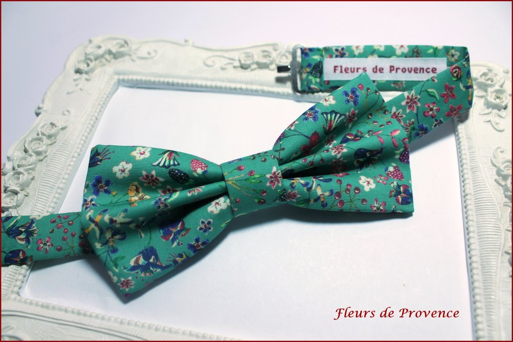 Noeud Papillon Tissu Liberty Donna leigh Jade - Homme