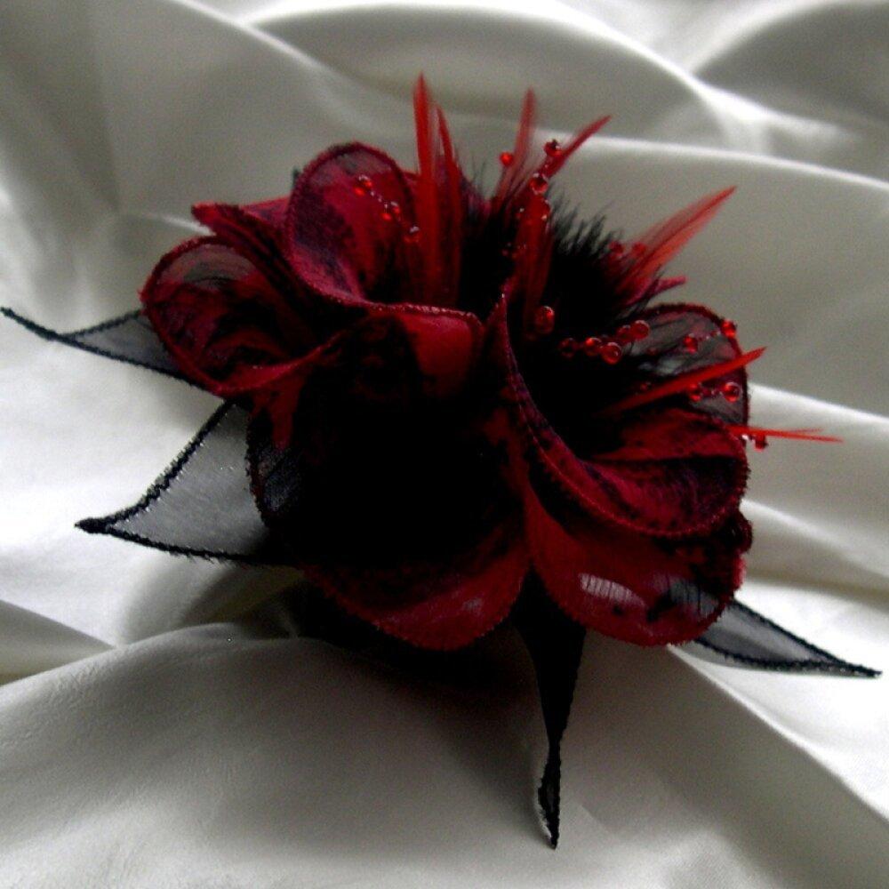 Wicemoon Fleur Broche pour Femme Perle Feuilles Accessoires /él/égant Broche pour Mariage//