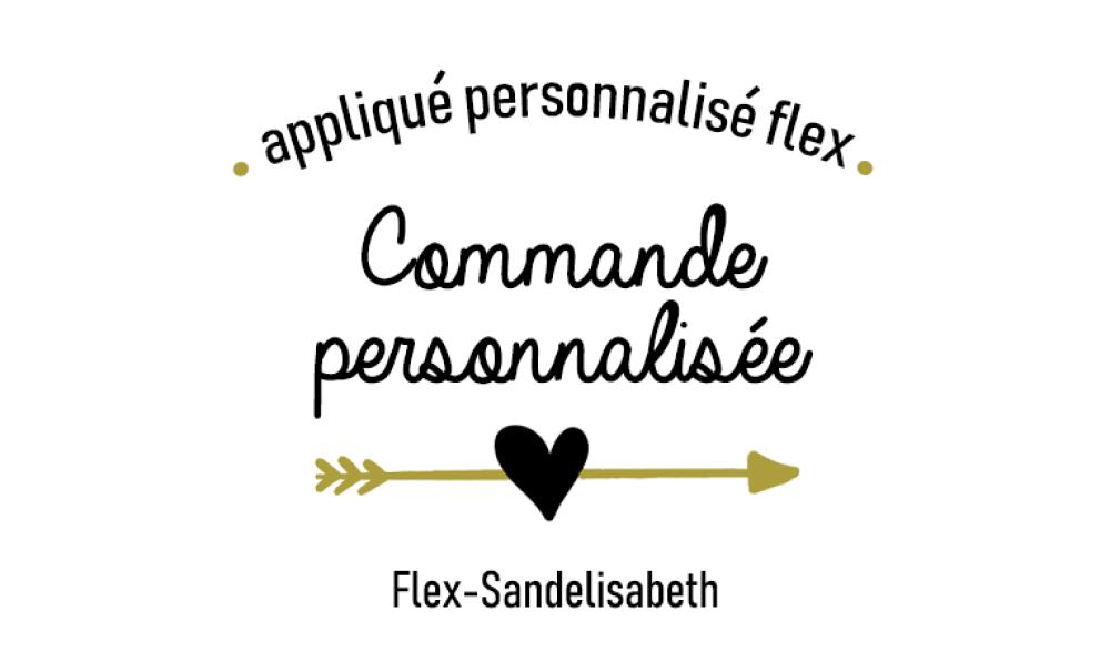 Commande spéciale flex thermocollant (réservée)